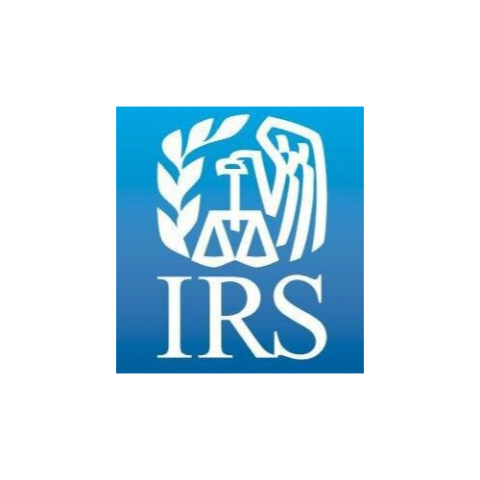 logo for the IRS